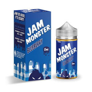 [Jam Monster] 블루베리/BLUEBERRY (75VG) 100ml